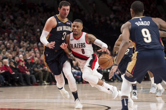Portland Trail Blazers vs. New Orleans Pelicans - 4/17/18 NBA Pick, Odds, and Prediction
