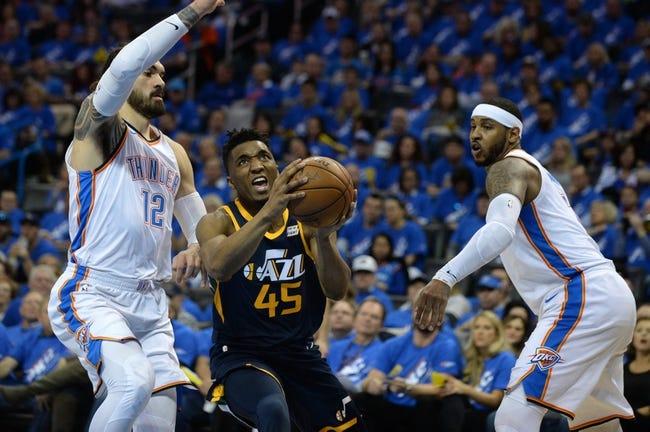 Oklahoma City Thunder vs. Utah Jazz - 4/18/18 NBA Pick, Odds, and Prediction