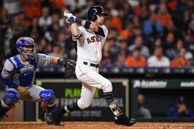 Houston Astros vs. Texas Rangers - 5/11/18 MLB Pick, Odds, and Prediction