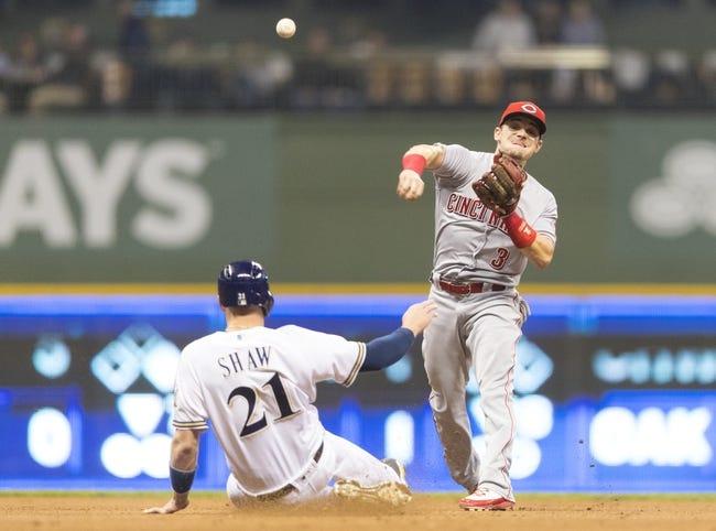 Milwaukee Brewers vs. Cincinnati Reds - 4/18/18 MLB Pick, Odds, and Prediction