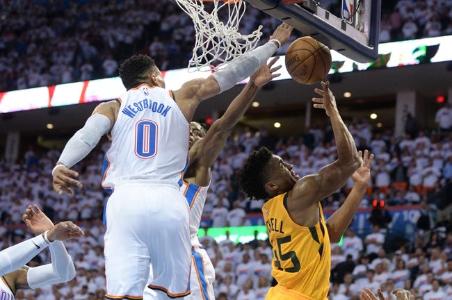 NBA | Oklahoma City Thunder (49-34) at Utah Jazz (48-35)