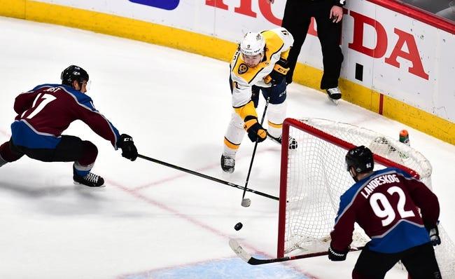 Nashville Predators vs. Colorado Avalanche - 4/20/18 NHL Pick, Odds, and Prediction