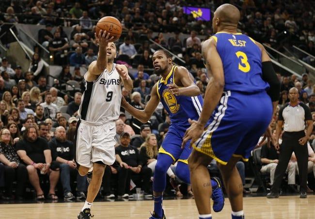 NBA | Golden State Warriors (60-24) at San Antonio Spurs (47-37)