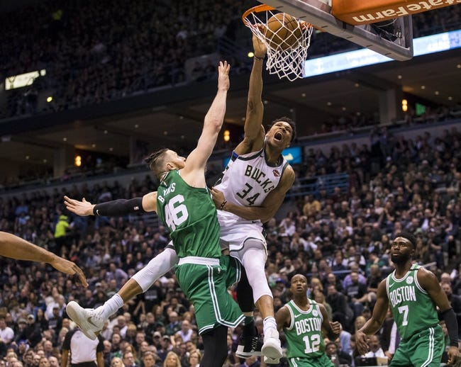 Milwaukee Bucks vs. Boston Celtics - 4/22/18 NBA Pick, Odds, and Prediction