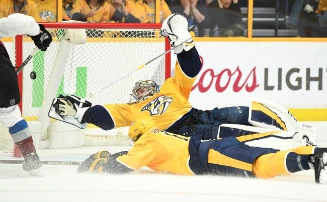 Colorado Avalanche vs. Nashville Predators - 4/22/18 NHL Pick, Odds, and Prediction