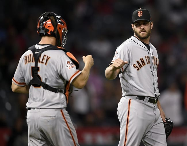 Los Angeles Angels vs. San Francisco Giants - 4/21/18 MLB Pick, Odds, and Prediction