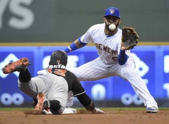 Milwaukee Brewers vs. Miami Marlins - 4/22/18 MLB Pick, Odds, and Prediction