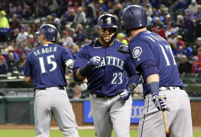 Texas Rangers vs. Seattle Mariners - 4/22/18 MLB Pick, Odds, and Prediction
