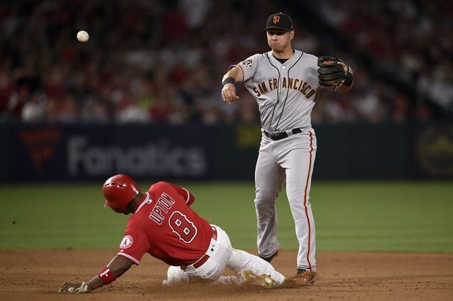 Los Angeles Angels vs. San Francisco Giants - 4/22/18 MLB Pick, Odds, and Prediction