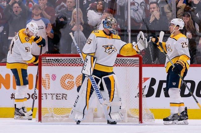 Nashville Predators vs. Winnipeg Jets - 4/27/18 NHL Pick, Odds, and Prediction