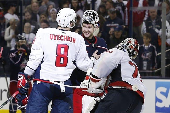 Washington Capitals vs. Columbus Blue Jackets - 11/9/18 NHL Pick, Odds, and Prediction