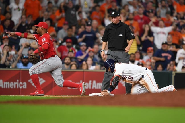 Houston Astros vs. Los Angeles Angels - 4/24/18 MLB Pick, Odds, and Prediction