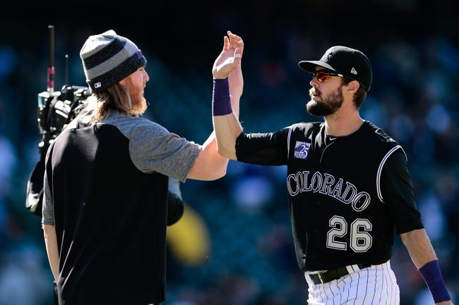 San Diego Padres vs. Colorado Rockies - 5/14/18 MLB Pick, Odds, and Prediction