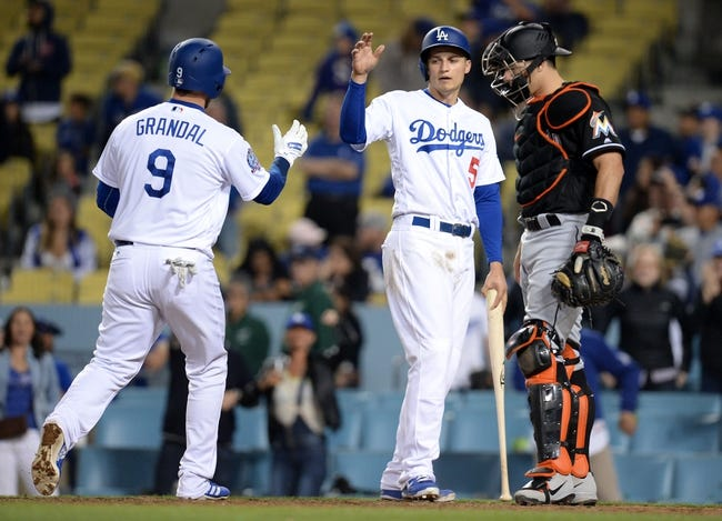 Miami Marlins vs. Los Angeles Dodgers - 5/15/18 MLB Pick, Odds, and Prediction