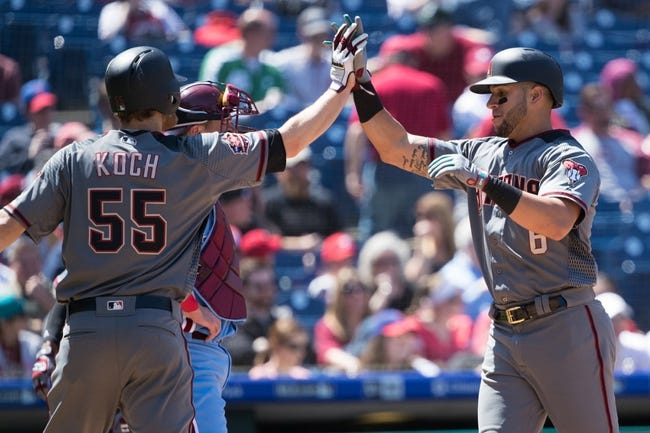 MLB | Philadelphia Phillies (63-48) at Arizona Diamondbacks (62-51)