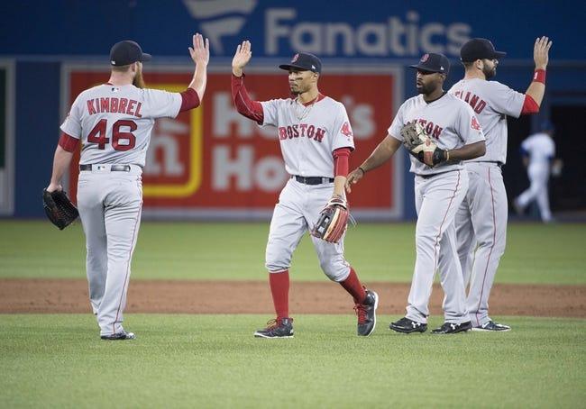 Toronto Blue Jays vs. Boston Red Sox - 5/11/18 MLB Pick, Odds, and Prediction