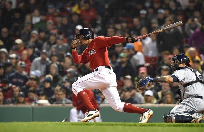 Boston Red Sox vs. Tampa Bay Rays - 4/28/18 MLB Pick, Odds, and Prediction