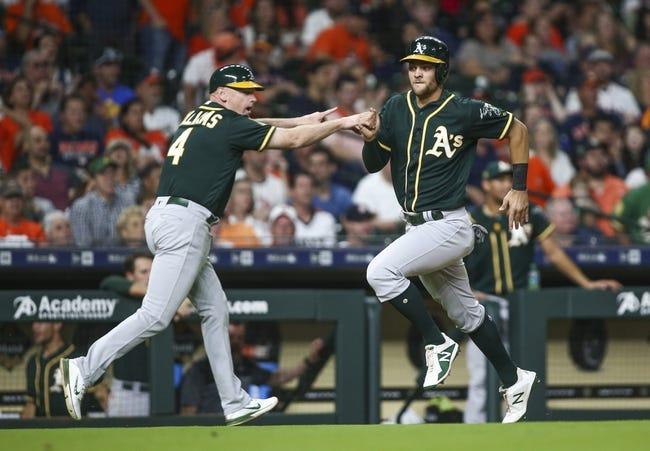 Houston Astros vs. Oakland Athletics - 4/28/18 MLB Pick, Odds, and Prediction