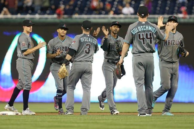 MLB | Arizona Diamondbacks (17-7) at Washington Nationals (11-14)