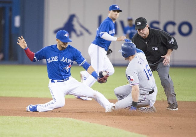 Toronto Blue Jays vs. Texas Rangers - 4/29/18 MLB Pick, Odds, and Prediction