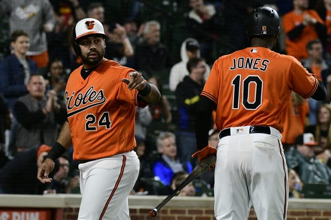 Baltimore Orioles vs. Detroit Tigers - 4/29/18 MLB Pick, Odds, and Prediction