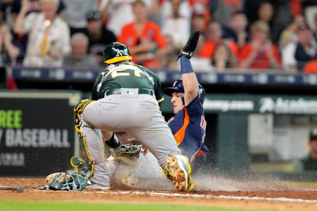 Oakland Athletics vs. Houston Astros - 5/7/18 MLB Pick, Odds, and Prediction