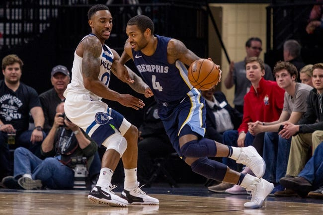 Minnesota Timberwolves vs. Memphis Grizzlies - 11/18/18 NBA Pick, Odds, and Prediction
