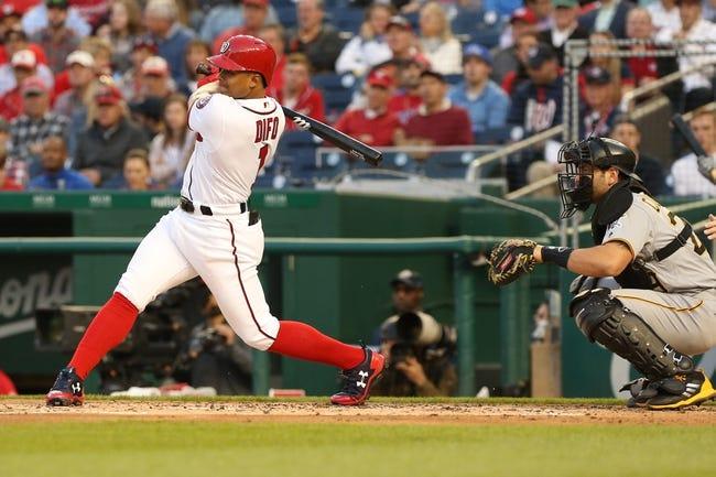 Washington Nationals vs. Pittsburgh Pirates - 5/1/18 MLB Pick, Odds, and Prediction