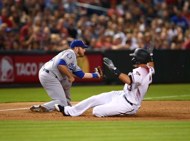 Arizona Diamondbacks vs. Los Angeles Dodgers - 5/1/18 MLB Pick, Odds, and Prediction