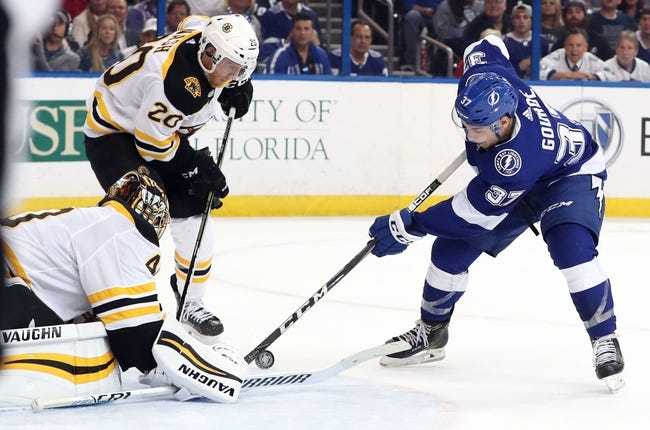 Boston Bruins vs. Tampa Bay Lightning - 5/2/18 NHL Pick, Odds, and Prediction