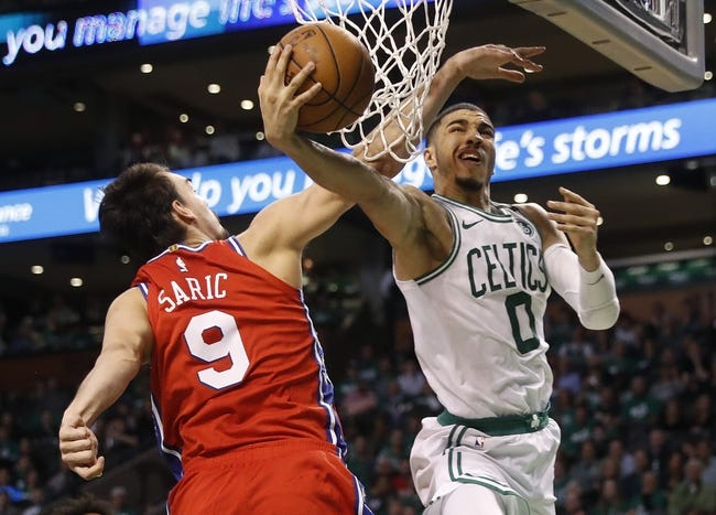 Boston Celtics vs. Philadelphia 76ers - 5/3/18 NBA Pick, Odds, and Prediction