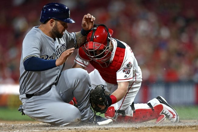 Cincinnati Reds vs. Milwaukee Brewers - 5/2/18 MLB Pick, Odds, and Prediction