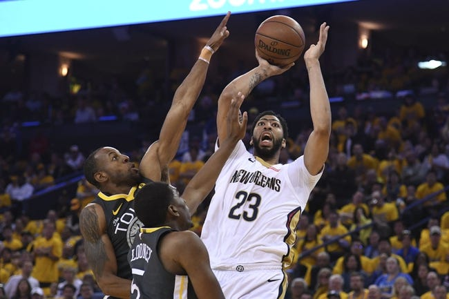New Orleans Pelicans vs. Golden State Warriors - 5/4/18 NBA Pick, Odds, and Prediction
