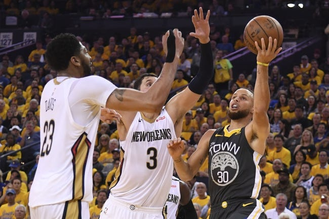 Golden State Warriors at New Orleans Pelicans - 5/4/18 Game 3 NBA Pick, Odds, and Prediction