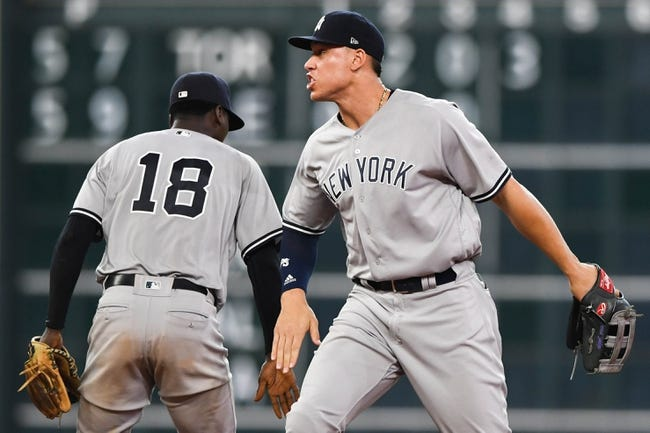 New York Yankees vs. Houston Astros - 5/28/18 MLB Pick, Odds, and Prediction