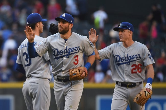 Los Angeles Dodgers vs. Arizona Diamondbacks - 5/8/18 MLB Pick, Odds, and Prediction