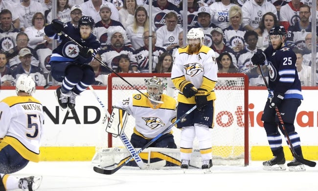Nashville Predators vs. Winnipeg Jets - 5/5/18 NHL Pick, Odds, and Prediction