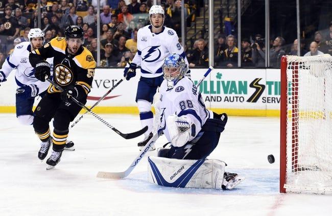 Tampa Bay Lightning vs. Boston Bruins - 5/6/18 NHL Pick, Odds, and Prediction