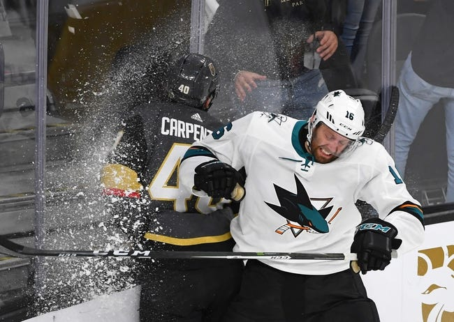 San Jose Sharks vs. Vegas Golden Knights - 5/6/18 NHL Pick, Odds, and Prediction
