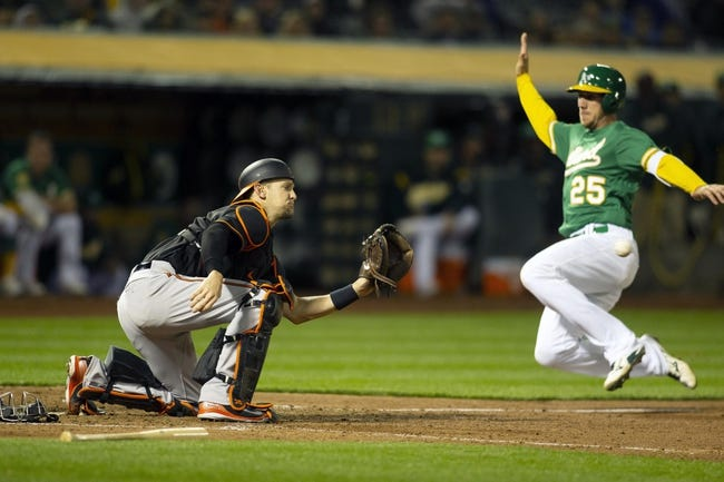 Oakland Athletics vs. Baltimore Orioles - 5/5/18 MLB Pick, Odds, and Prediction