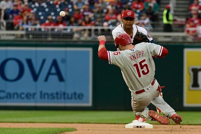 Washington Nationals vs. Philadelphia Phillies - 5/6/18 MLB Pick, Odds, and Prediction