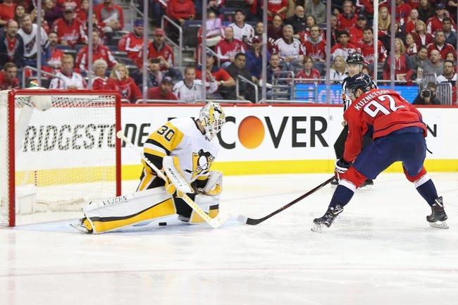 Pittsburgh Penguins vs. Washington Capitals - 5/7/18 NHL Pick, Odds, and Prediction