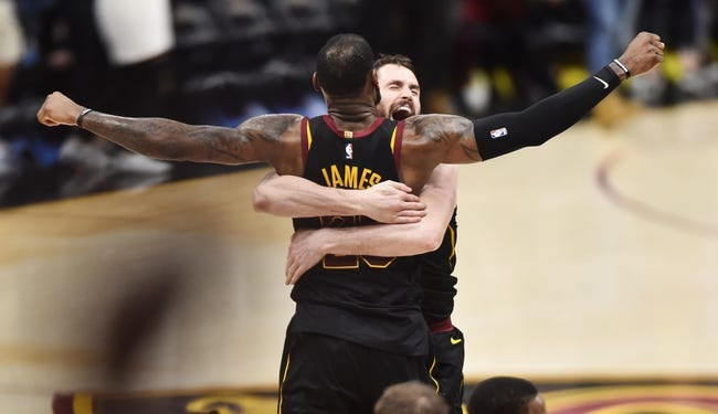 Toronto Raptors at Cleveland Cavaliers - 5/7/18 Game 4 NBA Pick, Odds, and Prediction