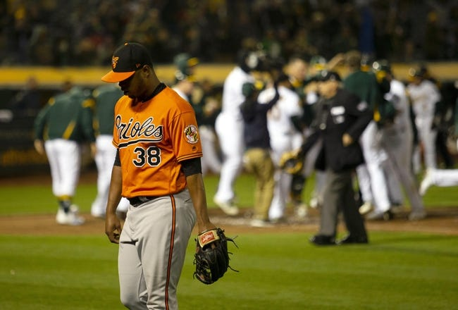 MLB | Baltimore Orioles (8-25) at Oakland Athletics (17-16)