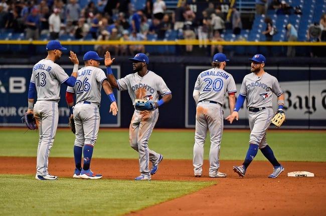 Tampa Bay Rays vs. Toronto Blue Jays - 6/11/18 MLB Pick, Odds, and Prediction