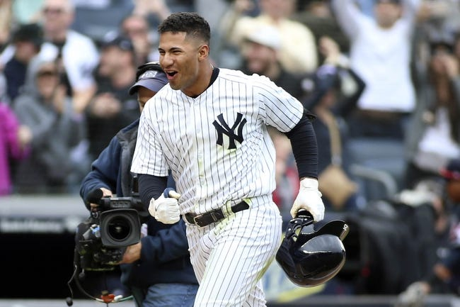 Cleveland Indians vs. New York Yankees - 7/12/18 MLB Pick, Odds, and Prediction