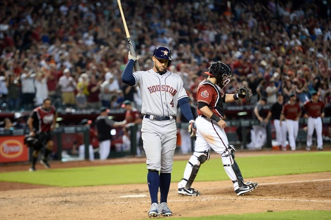Houston Astros vs. Arizona Diamondbacks - 9/14/18 MLB Pick, Odds, and Prediction