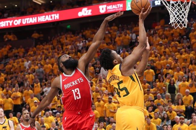 Utah Jazz at Houston Rockets - 5/8/18 Game 5 NBA Pick, Odds, and Prediction