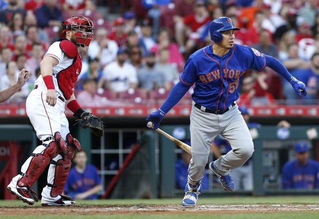 MLB | New York Mets (18-15) at Cincinnati Reds (8-27)