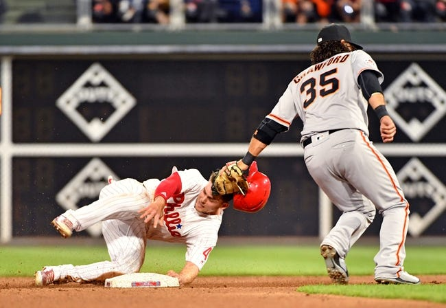 Philadelphia Phillies vs. San Francisco Giants - 5/9/18 MLB Pick, Odds, and Prediction